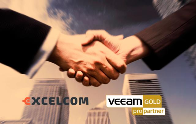 Excelcom es Gold Propartner de Veeam