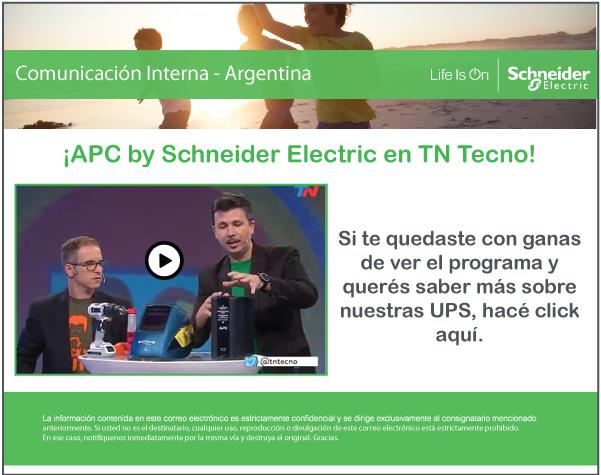 APC by Schneider Electric en TN TECNO
