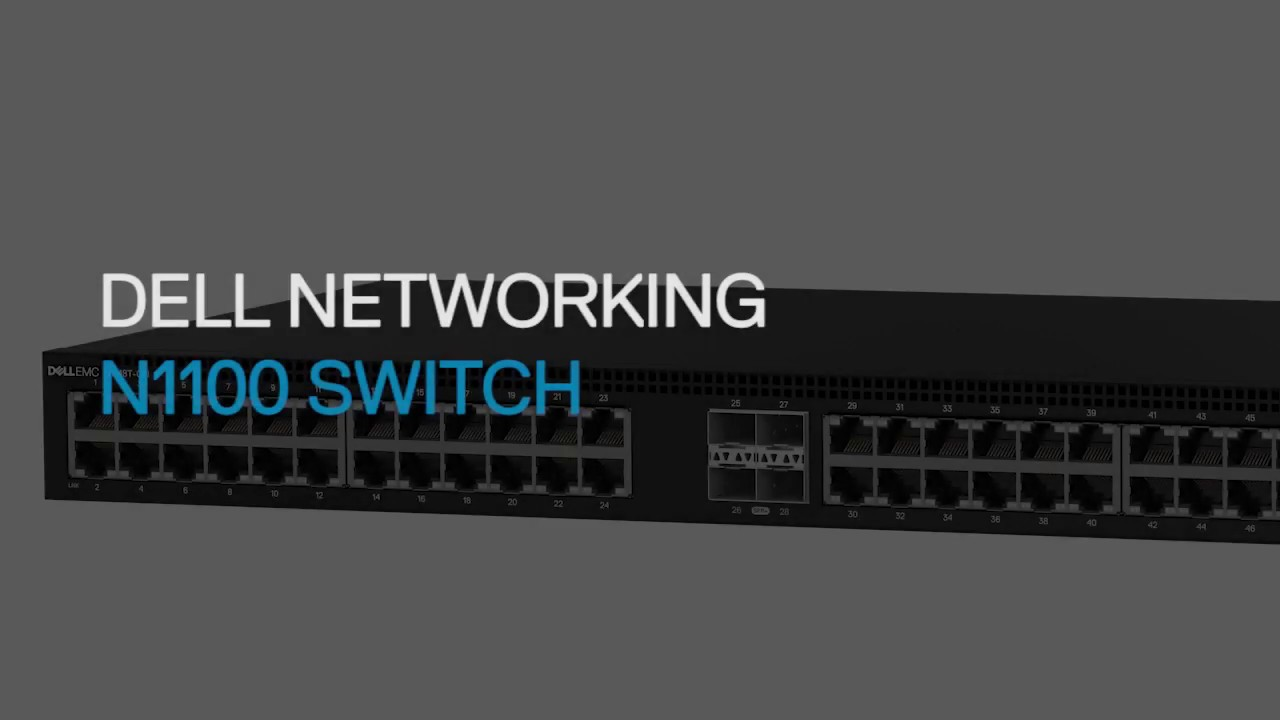 Switch Dell EMC Networking N1100