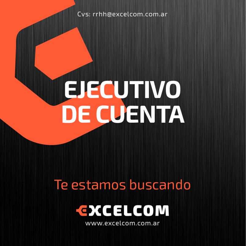 EJECUTIVO DE CUENTAS para Ciudad de Santa Fe