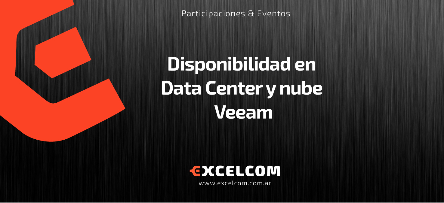 Disponibilidad en Data Center y nube – Veeam