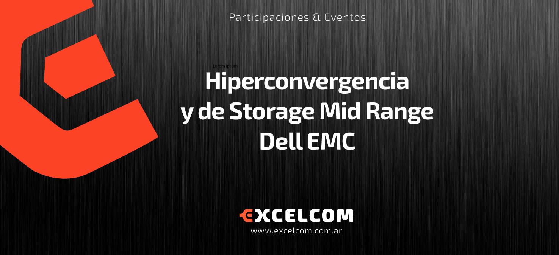 Hiperconvergencia y de Storage Mid Range
